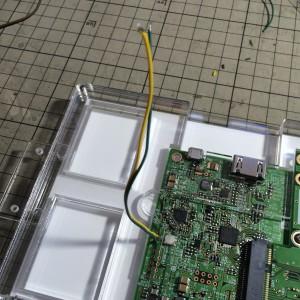 IGZOパネルLEDバックライト制御ジャンパー(J4)その2