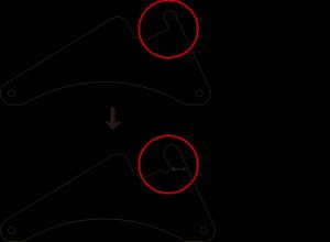 新簡易スタンド設計変更説明図